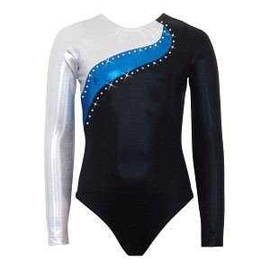 Elite Silver/Blue/Black Mystique Long Sleeve