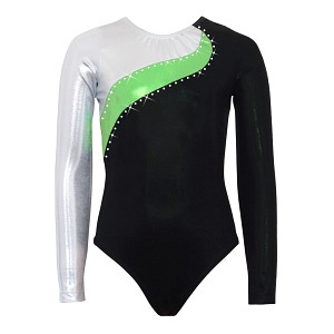 Elite Silver/Lime/Black Mystique Long Sleeve