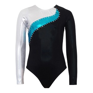 Elite Silver/Ocean/Black Mystique Long Sleeve
