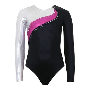 Elite Silver/Pink Berry/Black Mystique Long Sleeve