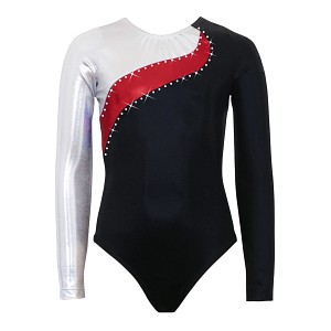 Elite Silver/Red/Black Mystique Long Sleeve