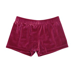 Raspberry Velvet Micro Mini Shorts
