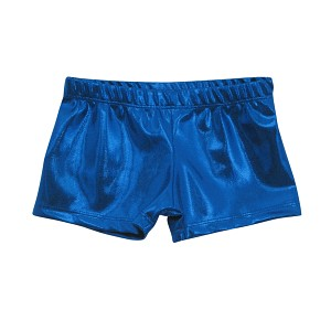 Blue Mystique Micro Mini Shorts