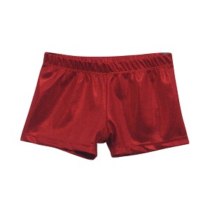 Red Mystique Micro Mini Shorts