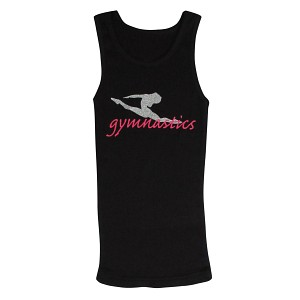Split Leap Gymnastics Tank Top